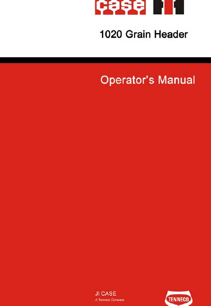 case ih  flex header manual   farm manuals