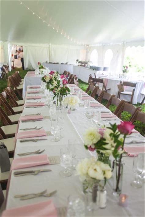 unique pink backyard wedding   hampshire