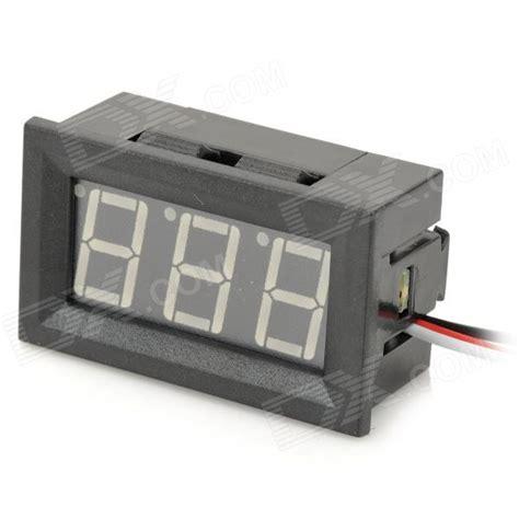 v27d 3 cable digital diy 0 56 quot 3 digit led dc voltmeter
