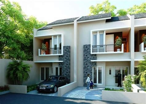 desain fasad rumah minimalis images  pinterest