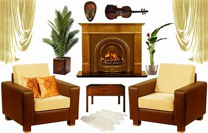 Interior Decoration Clipart Furniture Elements Lifeblue Transparent