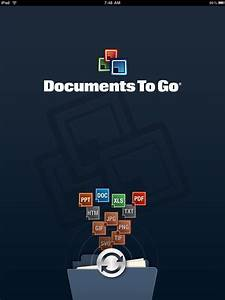 Documents to go for ipad app review imore for Documents to go review