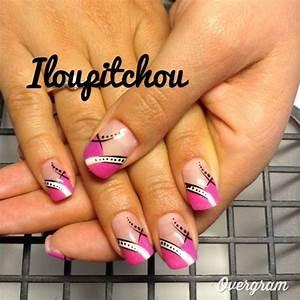 Ongles Pinterest : image virginie d co d 39 ongle en gel mod les ongles pinterest ongles en ~ Melissatoandfro.com Idées de Décoration
