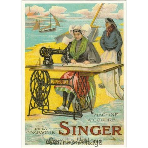 carte postale ancienne francaise affiche publicitaire