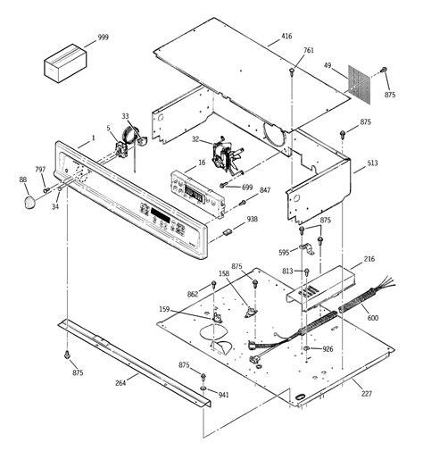 ge model jtpbdbb built  oven electric genuine parts