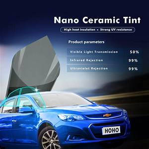 Film Anti Uv : vlt 50 nano ceramic car home window film solar tint anti ~ Dode.kayakingforconservation.com Idées de Décoration