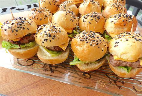 la cuisine de micheline mini burgers tout maison la cuisine de micheline