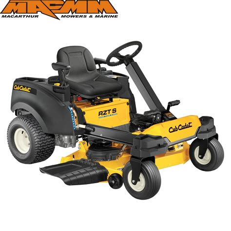 cub cadet rzt s 46 46 inch fabricated deck zero turn mower with 22hp kohler 7000 series v