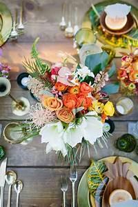 Deco Table Tropical : mon mariage esprit sous les tropiques ~ Teatrodelosmanantiales.com Idées de Décoration