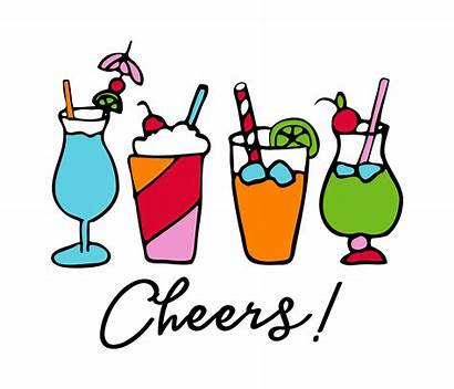 Cheers Drinks Cocktail Clipart Svg Machine Zoom