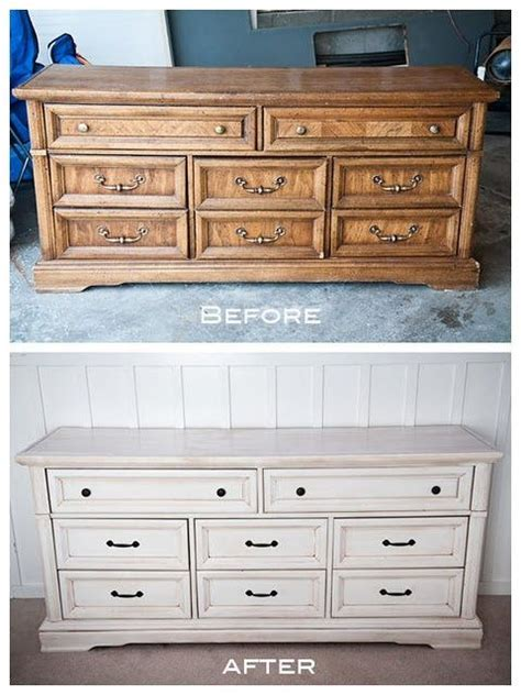 """White Refinished Dresser  For The Coffee """"desk"""" From"""