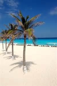 Cancun White Sand Beaches Mexico