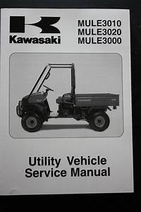Genuine Kawasaki Utility Service Workshop Manual 01