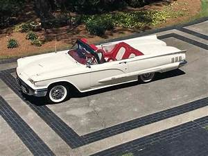 1960 Ford Thunderbird #Fordclassiccars | Ford classic cars, Thunderbird car, Old classic cars