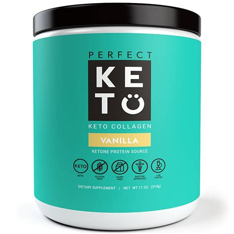 Amazon.com: Perfect Keto Protein Powder - Pure Grass-fed