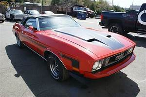 Classic 1973 Ford Mustang Mach 1 Convertible for Sale - Dyler