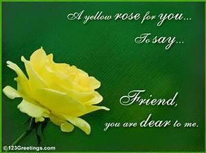 Yellow Rose Friendship Quotes. QuotesGram