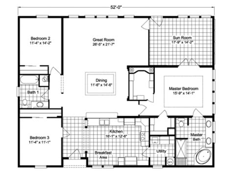wayne frier mobile homes floor plans wellington ii 40523a manufactured home floor plan or