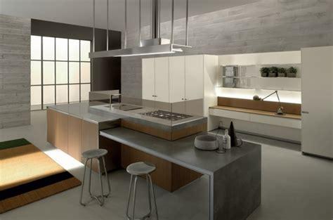 cuisine contemporaine ilot central la cuisine contemporaine vue par ernestomeda et record cucine