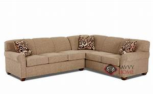 calgary fabric true sectional by savvy is fully With sectional sleeper sofa calgary