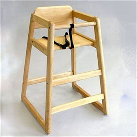la baby commercial restaurant wooden high chair
