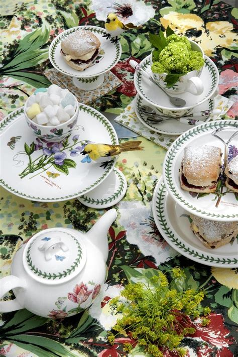 portmeirion botanic garden portmeirion botanic garden tea for one set portmeirion uk