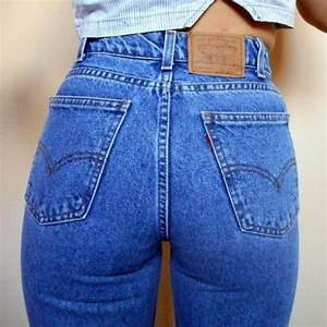 High waisted jeans levis