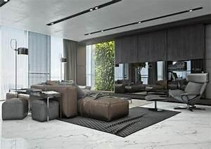 amenagement salon avec canape marron pour y inviter le With tapis de sol avec canapé nebraska