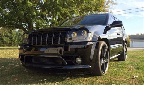 jeep srt 2007 pick of the day 2007 jeep grand cherokee srt8 best suv site