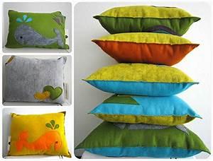Kissen Rückenlehne Wand : tolle wand dekoration aus filz ~ Eleganceandgraceweddings.com Haus und Dekorationen