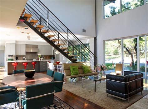 cuisine et salon aire ouverte décoration salon ouvert sur la cuisine décor de maison décoration chambre