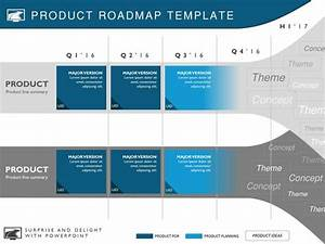 Five Phase Strategic Product Timeline Roadmapping Presentation Diagram