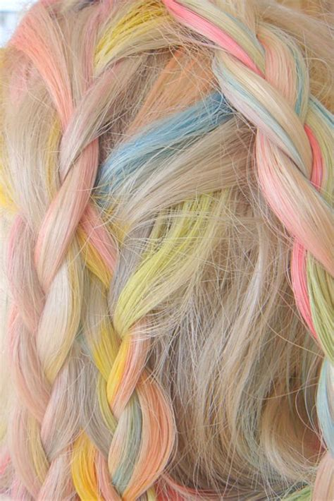pastel hairstyles  hair colors  spring