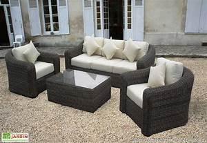 Salon De Jardin En Résine Tressée : mobilier de jardin en resine bricolage maison et d coration ~ Premium-room.com Idées de Décoration