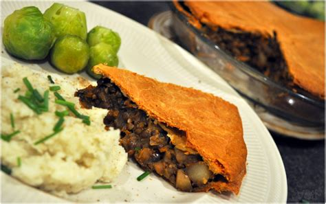 cuisiner sans viande une recette de tourtière aux lentilles chignons et