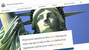 State Senate redesigns site with eye to constituent ...