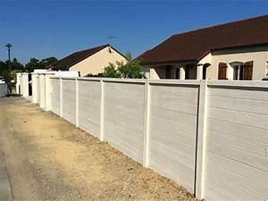Cloture Beton Imitation Bois : cloture beton et bois ~ Dailycaller-alerts.com Idées de Décoration