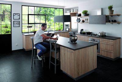 cuisine mi bois cuisinella les 6 cuisines pratiques chic et abordables qu 39 on préfère côté maison