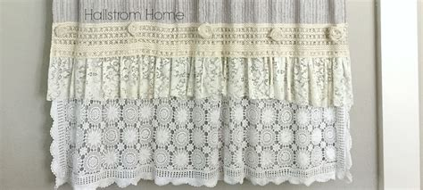 shabby chic curtains diy diy archives hallstrom home
