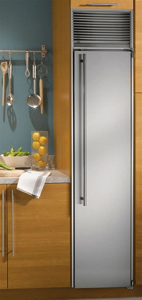 Modular all refrigerator and all freezer columns from