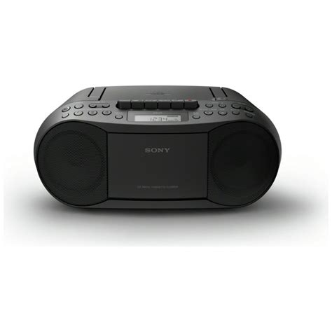 Cd Cassette Player by Sony Cfd S70 Cd And Cassette Player With Radio Black