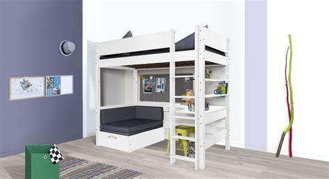 Hochbett Mit Schreibtisch by Hochbett Mit Sofa Optionalem Schreibtisch Bestellen