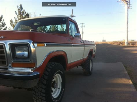 ford ranger f 150 ford ranger f150 1978 4x4 bed
