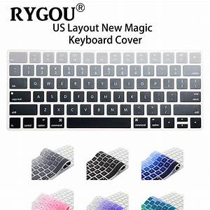 Us English Layout Silicone Wireless Keyboard Cover For Apple New Magic Keyboard Release In 2015