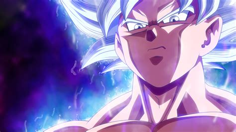 wallpaper dragon ball super son goku mastered ultra
