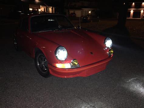 porsche headlights at night bi xenon bi led headlights for porsche 911 sc and 964