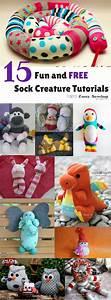 15 Fun And Free Sock Creature Tutorials