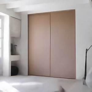 Porte Coulissante Miroir Sur Mesure : porte de placard coulissante la mesure extension ~ Premium-room.com Idées de Décoration