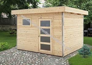 Garage En Bois Toit Plat : stunning abri de jardin toit plat beton gallery design ~ Dailycaller-alerts.com Idées de Décoration