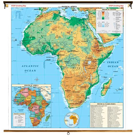 Top 10 Physical Features Of Subsaharan Africa  Learning Team 23